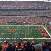 Photo taken at Paul Brown Stadium by Stephen W. on 10/6/2013