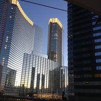 Photo taken at CityCenter Tram (Bellagio) by Joe R. on 11/27/2012