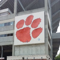 Photo taken at Frank Howard Field at Clemson Memorial Stadium by Kelly S. on 6/12/2013