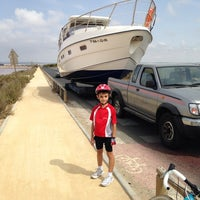 Foto tomada en Puerto deportivo Marina de las salinas por Mascolor P. el 7/25/2014