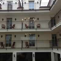 Photo taken at Hotel Angelis Prague by Storg ☻ on 6/3/2013