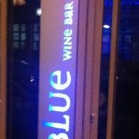 Photo taken at Blue Wine Bar by Osm V. on 10/3/2012