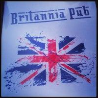 Photo taken at The Britannia Pub by Matthew on 7/15/2013