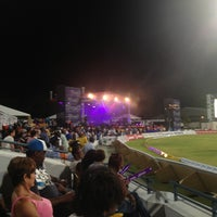 Photo taken at Kensington Oval by Susie R. on 7/30/2013