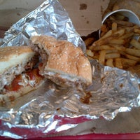 Photo taken at Five Guys by DK M. on 9/20/2012