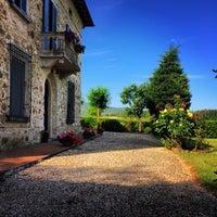 Photo taken at Borgo il Villino by Alexey G. on 6/12/2014