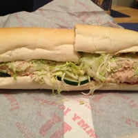 Photo taken at Jimmy John's by Christine M. on 3/8/2013