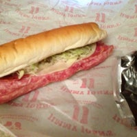 Photo taken at Jimmy John's by Christine M. on 2/2/2013