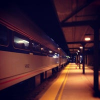Photo taken at Amtrak - Ann Arbor Station (ARB) by Will on 1/18/2013