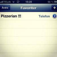 Photo taken at Pizzeria Marco Polo by Tobias M. on 1/13/2013
