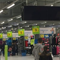 Photo taken at Decathlon by Florence M. on 2/25/2017