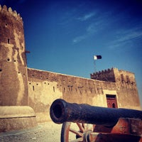 Photo taken at Al-Zubara Castle by وائل الدغفق ر. on 3/8/2013