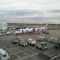 Photo taken at Southampton Airport (SOU) by Somebody R. on 8/5/2014