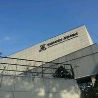 Photo taken at HWAJEONG Museum by Elina H. on 1/1/2013