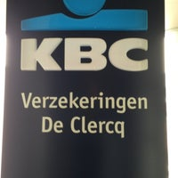 Photo taken at KBC Verzekeringskantoor De Clercq by Lien . on 8/22/2013
