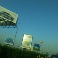 Photo taken at King Abdul-Aziz Roundabout by Yasser A. on 5/7/2013