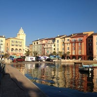 Photo taken at Loews Portofino Bay Hotel at Universal Orlando by Rosie H. on 11/3/2012