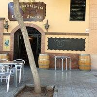 Photo taken at Taberna Braseria Entre Amigos by Masqbicis on 2/21/2013