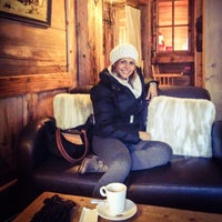 Photo taken at Au Coeur de Megève by Berena B. on 11/23/2013