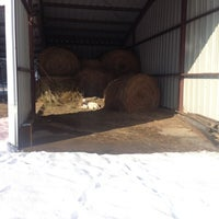Photo taken at Horse Barn by Morganne C. on 12/31/2012