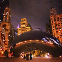 Photo taken at Millennium Park by Cameron E. on 10/29/2013