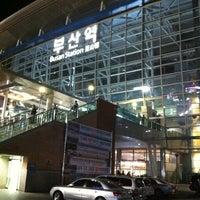 Photo taken at Busan Stn. - KTX/Korail by Seung KI L. on 9/28/2012