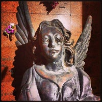 Photo taken at Forest Lawn Cemetery by Carlos D. on 4/9/2013