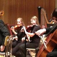 Photo taken at Music Hall by David M. on 2/16/2013