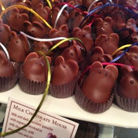 Photo taken at L.A. Burdick Chocolate by Kate M. on 3/17/2013