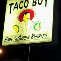 Photo taken at Taco Boy by Missy N. on 1/23/2013
