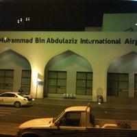 Photo taken at Prince Mohammad Bin Abdulaziz International Airport (MED) by Marisa L. on 5/5/2013