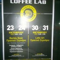 Photo taken at Coffee Lab - 1st Espresso Bar by Elizabeth on 10/19/2012