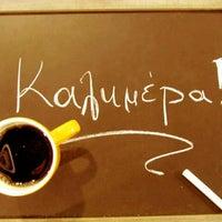 Photo taken at Coffee Lab - 1st Espresso Bar by Elizabeth on 2/28/2013