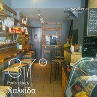 Photo taken at Coffee Lab - 1st Espresso Bar by Elizabeth on 7/30/2013