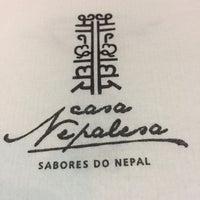 Photo taken at Casa Nepalesa by Fábio O. on 2/24/2017