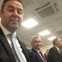 Photo taken at Denizbank Orta Anadolu Bölge Müdürlüğü by Mustafa L. on 11/18/2016