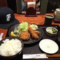 Photo taken at とんかつ和幸 ビーンズ武蔵中原店 by Takumi on 4/24/2016