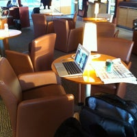 Photo taken at Air France Lounge by Driss A. on 10/17/2012