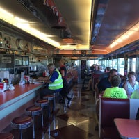 Photo taken at Tin Goose Diner by Christine S. on 9/6/2015