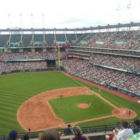 Photo taken at Progressive Field by Daniel R. on 7/6/2013