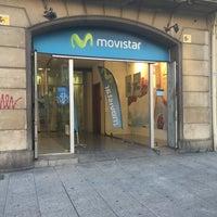Photo taken at Tienda Movistar by Jordi T. on 4/18/2016