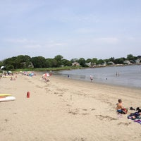 Photo taken at Wickford Town Beach by Gene V. on 6/22/2013