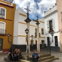Photo taken at Calle Cruces by Mark B. on 4/3/2018