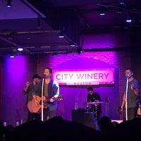 Foto scattata a City Winery da Terence C. il 9/23/2018