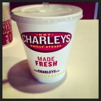 Photo taken at Charleys Philly Steaks by Kelsey P. on 1/8/2013