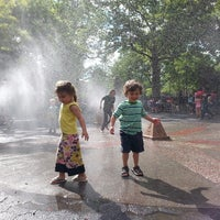 Photo taken at Carroll Park Playground by Francesca N. on 6/6/2014