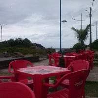 Photo taken at Avenida Principal - Orla de Itapoá (SC) by Alexandre T. on 2/22/2013
