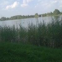 Photo taken at Ozolnieku ezers (Ozolnieki Lake) by Iveta K. on 7/26/2016