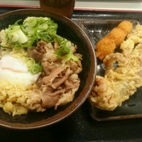 Photo taken at いきいきうどん善通寺店 by か に. on 12/27/2016
