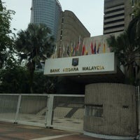 Photo taken at Bank Negara Malaysia by Danial H. on 6/4/2017